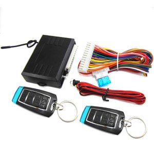 Alarm & Security Universal Car Central Locking Kit Auto Keyless Entry System Two Remote Controller Vehicle Door Lock Set