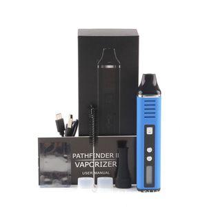 Top Quality Original Pathfinder 2 Dry Herb Vaporizer Pen Herbal 200-600F Hebe Electronic Cigarette Kit 2200mah Vapor E Cigar Dry Herb
