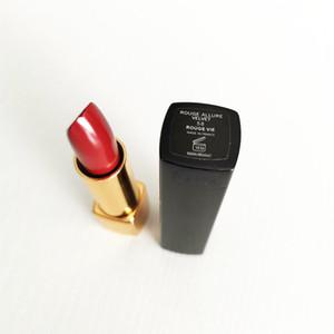 DropShipping Brand Cosmetic Matte lipstick high quality makeup Press the lipstick black tube Nude matte lipstick Free Shipping