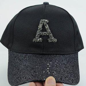 Women's Rhinestone Sequin Letter Baseball Cap Summer Girls Female Snapback Hip Hop Caps Adjustable Sun Hat Bad Bunny