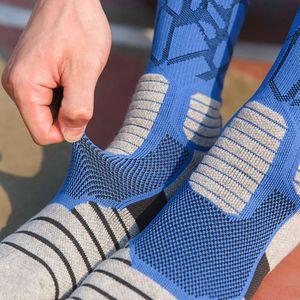 Super Elite мужская велосипедная баскетбол бегущий спортивные носки летние пешеходные лыжные теннис мужчина женщин велосипед