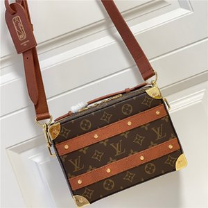 Famous Designer 2021 Satchel Bag Classic Totes For Ladies Shoulder Bags Women Luxury Cross Body Fashion Handbags Monogram Handle Trunk
