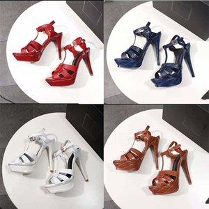 2021 Vendi Well Moda Donna High Heel Platform Sandali Pantofole da pantofole Donna Spessa Scarpe da fondo Estate Spiaggia Diapositive Sandali di Shoe02 01