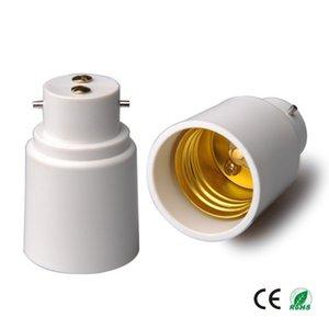 B22 на E27 Лампы базовый адаптер света преобразователь сокета B22 BateOnet Base для E27 Стандартный винтовой держатель преобразователя CE ROHS