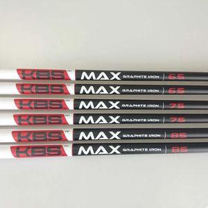Club Shafts Golf Shaft KBS MAX 65 75 85 Irons Graphite Clubs 10pcs Lot Free Ship