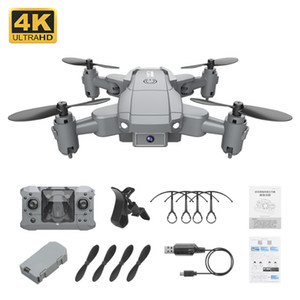 New KY905 Mini Drone with 4K Camera HD Foldable Drones Quadcopter One-Key Return FPV Follow Me RC Helicopter Quadrocopter Kid's Toys