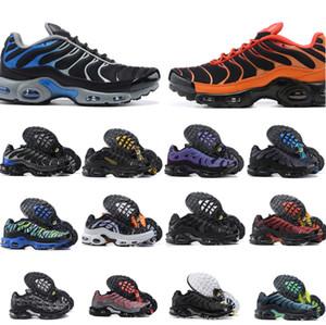 2021 Mens Tn plus Chaussures de course Sneakers pourpres TNS Formateurs en plein air classiques Taille 40-46
