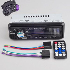 & MP4 Players Bluetooth MP3 Player Car Radio Audio Stereo USB SD Head Unit In Dash Off Time Display Function With Remote Contro