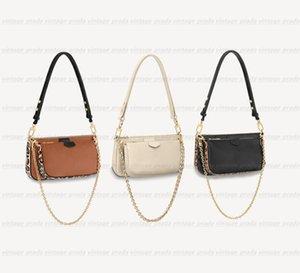 Luxury designer handbags tote purses women Cross Body bags MULTI POCHETTE ACCESSOIRES new Fashion Women's Small duffle Shoulder Chain Crossbody bag famous hobo