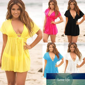 Sexy mulheres senhoras vestido de praia encoberto kaftan sarong verão verão banhos verão swimwear vestidos de biquíni