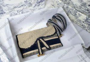 LADY Mini Belt Cross Body OBLIQUE Waist BAG Multicolor Embroidery Women Designers Handbag Bags Reversible Embroidered Shoulder Strap Purse