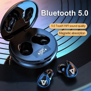 A29 Wireless Earphones Bluetooth Headphones with LED Digital Display Hifi Stereo Sports Headsets with Retail Box