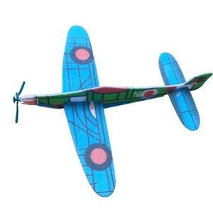 DIY собрал модель самолета вручную материал пены рукой, бросая воздушные судна технологии небольшого изобретения Детские игрушки случайные colo l0306