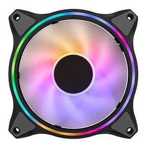 Coolermaster CPU Cooler Master 12 см 3 PIN-код ARGB Chassis Fan Desktop PC Чехол охлаждение радиатора Охлаждающая система CPU Вентилятор