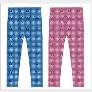 5pcs lot Baby Toddler Girls leggings Children star pants Clothes tights 2-10T sylvia Kids Clothing