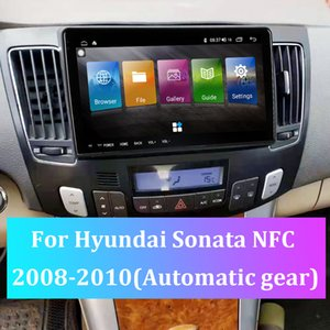 For Hyundai Sonata NFC 2008-2010 Automaitic gear Car GPS Navigator Android 10 Latest Map Navigation FM Radio Truck Audio Video Player MP5