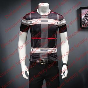 2020 летние ледяные шелковые короткими рукавами футболки электронной коммерции D252 P50 фальшивая модель