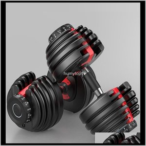 2020 Us Stock Weight Adjustable Dumbbell 5-52.5Lbs Fitness Workouts Dumbbells Tone Your Strength And Build Your Muscles Qrp0Z Tj8Ed