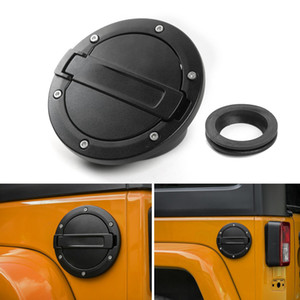 Fuel Tank Cover Car Gas Tank Cap Cover For Jeep Wrangler From 2007-2017 Auto Exterior Accessories
