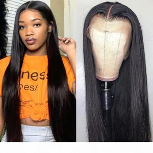 Cheap Lace Front Human Hair Wigs Hd Transparent Lace Frontal Wigs Bone Straight Front Human Hair Wig T Part Brazilian Wig