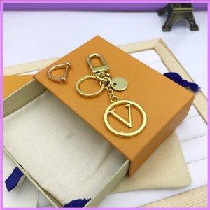 Fashion Keychain Designer Keychains Women Mens Key Charm New 2021 Luxurys Designers Key Chain Letters Unisex With Box D217137F