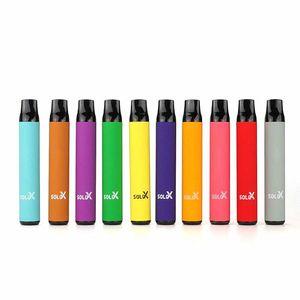 100% Original Vapememan Solo X Kit de Dispositivo Descartável 1500 Puffs 850mAh Bateria Preffurada 4.2ml Pod Vape Vape Original vs Bang XXL