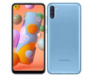Original Unlocked Samsung Galaxy A11 A115U 2GB RAM 32GB ROM LTE 13MP Triple Rear Camera Android Cellphone