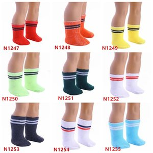 9 Colors Doll Socks Sport Stockings Hose Mix or Mark color for 18 inch American Girl Doll
