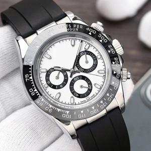 2021 Moda Kauçuk Bant Seramik Çerçeve Mens Otomatik Hareketi 2813 Mekanik SS Erkekler İzle Spor Saatler Tasarımcı Bilezik Saatı