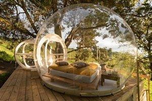 Free Air Brusher Надувная пузырьковая палатка (3 м 4 м 5 м) пузырь Купол прозрачные Иглоо Палатка открытый пузырь дерево купольный дом для кемпинга