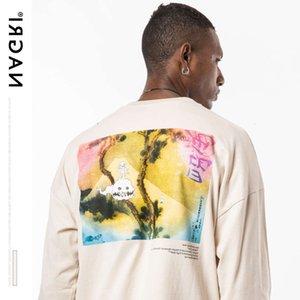 T Shirt Nagri Kanye Batı Çocuklar Ghosts'ları Görmek Erkek ve Kadın Uzun Kollu Tişörtler