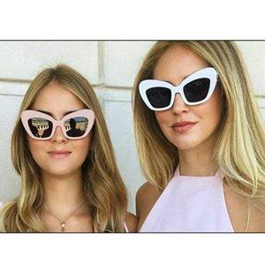 2021 القط تصميم النساء النظارات الشمسية خمر العين نظارات الشمس ظلال للنساء النظارات الرجعية الأعلى الباعة عالية الجودة
