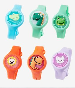 Kids Flash Cartoon anti-Mosquito Watch design Creative Silicone Mosquito Repellent Bracelet Summer Outdoor Insect Repellent Bracelet
