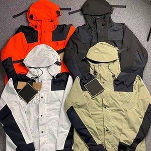 21ss Autumn mens jacket casual fashion luxury coat oversized hoodies high density Waterproof nylon fabric Comfortable YKK zipper eur size pocket jacket