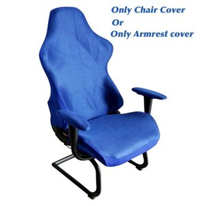 Armchairs Modern Removable Dustproof Chair Covers Elastic Decorative Washable Reusable Computer Seats Soft Home Office Gaming