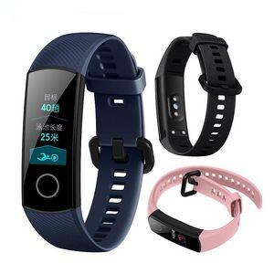 "Huawei Honon Honor Band 4 الذكية معصمه AMOLED اللون 0.95 ""Touchscreen السباحة الموقف كشف معدل ضربات القلب النوم Snap"