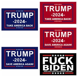 Trump Flag 2024 Bandeiras Eleitorais Bandeira Donald Trump Bandeira Salvar America novamente 150 * 90 cm 5 estilos Trump Flags ZZZ2984