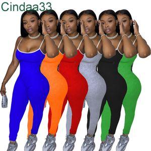 Moda Casual Jumpsuits Womens Sexy Curto Suspender Calças Jumpsuit Macacão Bodysuit Plus Size Women Onesies Verão Estilo S-XXL