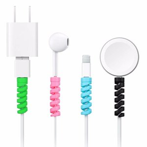 2Pcs Charging Cables Protector Saver Cover for IPhone USB Charger cable Cord Adorable Protective Sleeve For Phones Cable