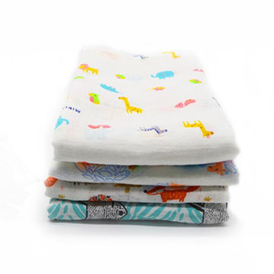 Baby Muslin Swaddle Blankets Cotton Summer Bath Towels Newborn Wraps Nursery Bedding Infant Swadding Parisarc Robes Quilt CCD5049