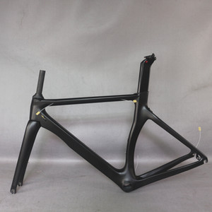 Tantan Factory New Aero Design All Black Color Carbon Road Bike Frame Fibra de carbono Racing Bicycle Frame TT-X2 700C Aceptar Pintura