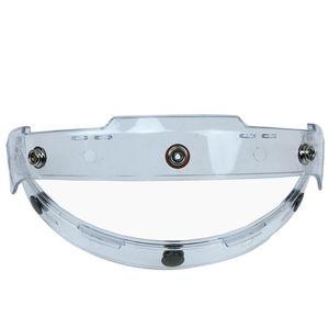 Motorcycle Helmets Durable Driving Accessories Flip Up Fixing Base Brim Visor Helmet Lens Holder Shield 3buttons Portable Adjustable