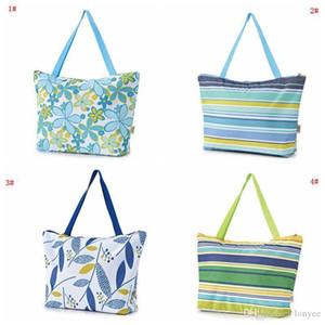 Складная сумка для покупок портативный складной сумка Оксфорд ткань водонепроницаемая сумка для пикника для пикника большой емкости Организатор для организатора DBC VT0399