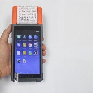Printers NuolanxingQ3-impresora De Recibos Terminal Android, Portátil, Con Bluetooth, WiFi, 3G, Recolector Datos, Escáner