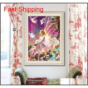 5d Needlework Diy Diamond Painting Diy Elf Girl Diamond Painting 5d Home Decoration Diamond Embroidery Cross Stitch qylFFg bdetoys