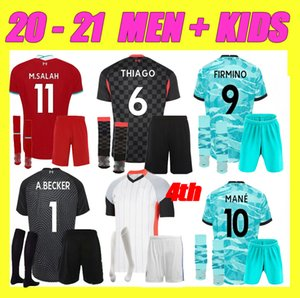 Neue 20 21 LVP Tops Vierter Alexander Arnold Diogo J 4th Fussball Jersey Milner A.Becker Football Hemd Herren Kit 2020 2021 KEITA KIDS Sets Socken