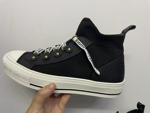 2021 B23 Sneaker Frauen Schuhe Wandere Sneaker Blau Blue Schräg Technische Mesh Sneakers Klassische Plattformschuhe GRILS Lace-up-Trainer mit Box