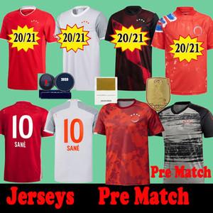 Pre Match Bayern Eğitim Gömlek Münih 2020 2021 Futbol Formaları See Lewandowski Gnabry Muller 20 21 İnsan Yarışı Coman Futbol Gömlek Kitleri