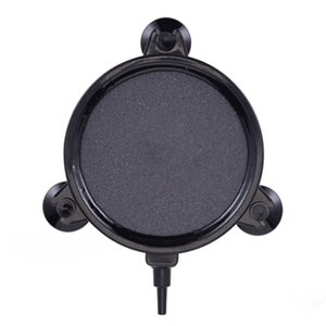 Hydroponic Aerator Supplies Pond Round Stone Air Bubble Disk Aquarium Fish Tank Plate Suction Cup Oxygen Diffuser Accessories