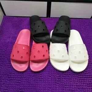 21ss أزياء المرأة مصممي المصممين الصنادل الرجال الشرائح المسطحة الوجه يتخبط أسود أبيض الشرائح الصنادل حجم كبير الشريحة مع مربع أحذية الشاطئ